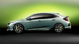 The Returning 2017 Civic Hatchback Unveiled