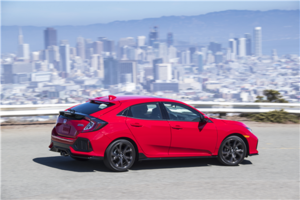 2018 Honda Civic Hatchback: Roomy and powerful in Hull, Quebec