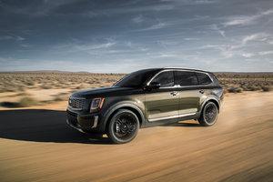 Le nouveau Kia Telluride 2020 présenté au Salon de l'auto de Détroit