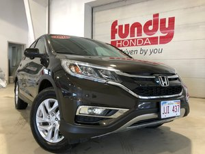 2015 Honda CR-V EX w/push start and alloy ONE OWNER