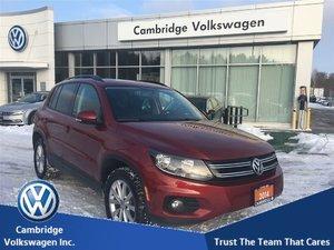 2014 Volkswagen Tiguan Comfortline 6sp at Tip With Financing From 0.9%