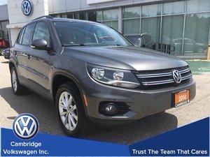 2014 Volkswagen Tiguan Comfortline 4Motion With Financing From 0.9%
