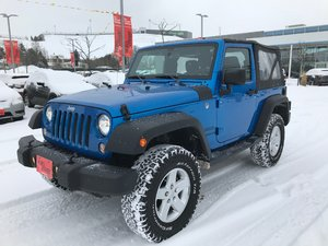 2016 Jeep Wrangler Sport One Owner..6 Speed..Soft Top Fun..Very Clean..Fully Reconditioned!!