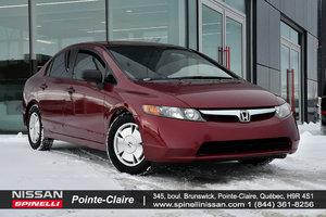 Honda Civic Sdn DX-G 2008 CLIMATISATION/REGULATEUR DE VITESSE