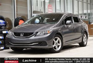 2013 Honda Civic Sdn EX REMOTE STARTER! HEATED SEATS! BLUETOOTH! SUNROOF! MAGS! VERY CLEAN! HURRY!