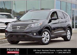 2013 Honda CR-V TOURING CUIR TOIT AWD BAS KM CUIR TOIT AWD GPS BAS KM