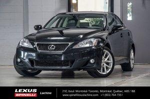 2011 Lexus IS 250 AWD; CUIR TOIT BLUETOOTH SIEGES CHAUFFANTS TOIT-OUVRANT - BLUETOOTH - SIÈGES AVANT CHAUFFANT