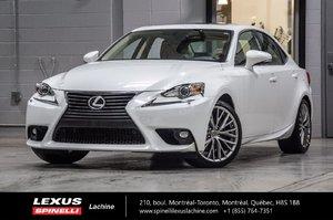 Lexus IS 250 PREMIUM AWD; CUIR TOIT CAMERA 2015 NOUVEL ARRIVAGE