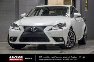 2015 Lexus IS 250 PREMIUM AWD; CUIR TOIT CAMERA NEW ARRIVAL