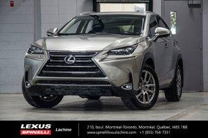 2015 Lexus NX 200t LUXE AWD; CUIR TOIT GPS $14,639 D'ÉCONOMIE DU PDSF - BAS KILOMÉTRAGE