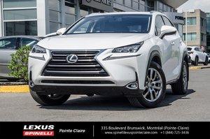 2015 Lexus NX 200t LUXURY NAVIGATION AWD,GPS,CAMERA DE RECULE,TOIT OUVRANT,CUIR.