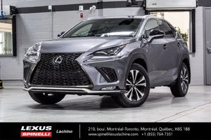 2018 Lexus NX 300 F SPORT III AWD; TOIT GPS $1370 DEMO REBATE OFF MSRP