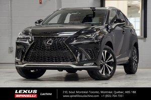 2018 Lexus NX 300 F SPORT I AWD; CUIR TOIT CAMERA LSS+ $4,479 DEMO REBATE OFF MSRP
