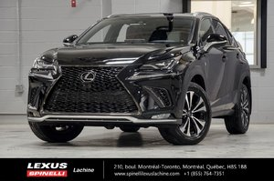 2018 Lexus NX 300 F SPORT I AWD; CUIR TOIT CAMERA LSS+ $4,479 RABAIS DEMO DU PDSF