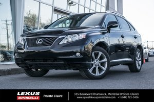 2010 Lexus RX 350 GROUPE SPORT, AWD, NAVIGATION, HEAD-UP DISPLAY LOW MILLAGE, SPECIAL SPORT MAGS