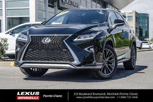 2016 Lexus RX 350 FSPORT SERIES 2 NAVIGATION TOUTE EQUIPPE,GPS,CAMERA DE RECULE,SIEGES CHAUFFANT/VENTILLE EST PLUS