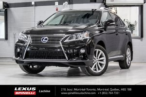 2015 Lexus RX 450h SPORTDESIGN AWD; CUIR TOIT GPS HYBRID - 8.2L / 100KM - COMBINED