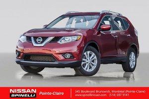 2015 Nissan Rogue SV FWD CAMERA DE RECUL / TOIT PANORAMIQUE / BLUETOOTH