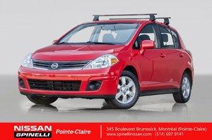 2011 Nissan Versa SL 2 ENS. DE PNEUS / RÉGULATEUR DE VITESSE / AIR CLIMATISÉ