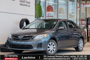 2013 Toyota Corolla CE BAS KILOMÉTRAGE! AIR CLIMATISÉ! DÉMARREUR À DISTANCE! SIÈGES CHAUFFANT! BLUETOOTH! UN PROPRIÉTAIRE!