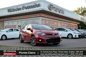 Toyota Corolla ********S UPGRADE PKG 2014 FAUT VOIR!!!!!!!