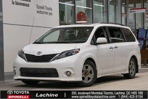2013 Toyota Sienna SE IMPECCABLE! CUIR! BLUETOOTH! CAMÉRA! TOIT OUVRANT! UN PROPRIÉTAIRE! SUPER PRIX! FAITES VITE!