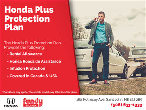 Honda Plus Protection Plan