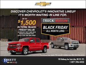 Chevrolet's Black Friday Sales Event