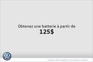 Obtenez une batterie à partir de 125$