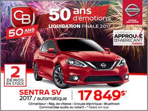 Sentra SV 2017 automatique