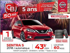 Sentra S 2018 automatique