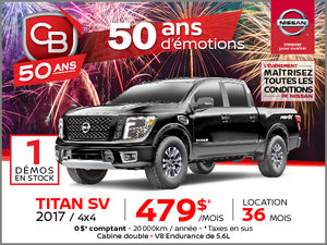 TITAN SV 2017