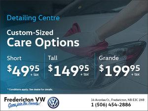Custom-Sized Care Options