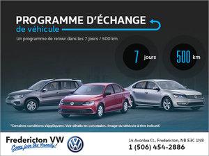Programme d'échange de véhicule