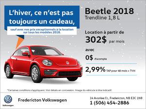 Beetle 2018 en location