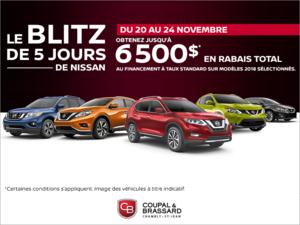 Le blitz de 5 jours de Nissan!