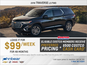 Get the 2019 Chevrolet Traverse