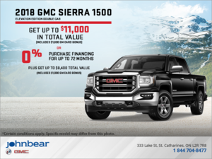 The 2018 Sierra 1500