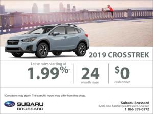Get the 2019 Crosstrek today!