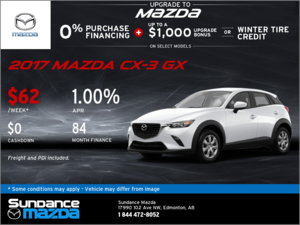 Save on the 2017 Mazda CX-3 Today!