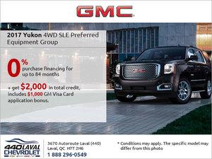 Get the 2017 GMC Yukon Today!