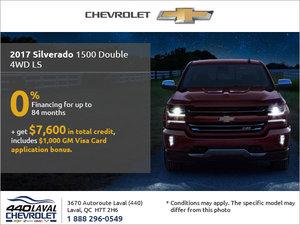 Get the 2017 Chevrolet Silverado Today!
