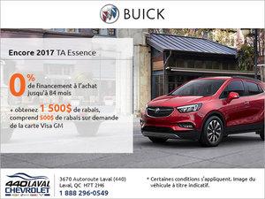 Le Buick Encore 2017 en rabais!