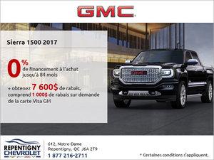 La GMC Sierra 1500 2017 en rabais!
