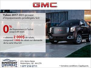 La GMC Yukon 2017 en rabais!