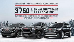 Promotion GMC Février 2018