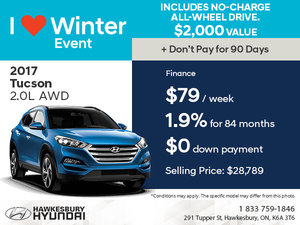 Save on the 2017 Tucson