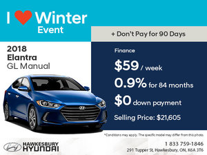 Save on the 2018 Hyundai Elantra GL