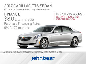 Get the 2017 Cadillac CT6 Today!
