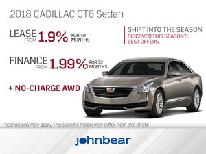 Get the 2018 Cadillac CT6 Today!